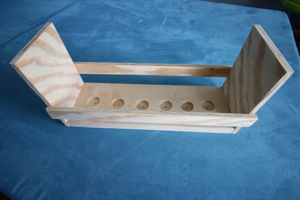 Construction d'une grange de jouets en bois bricolage