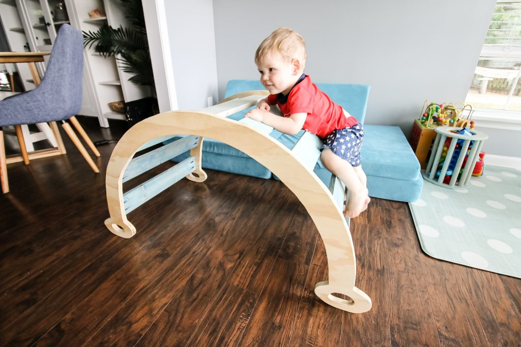 DIY Pikler Climbing Arch - Charleston Crafted
