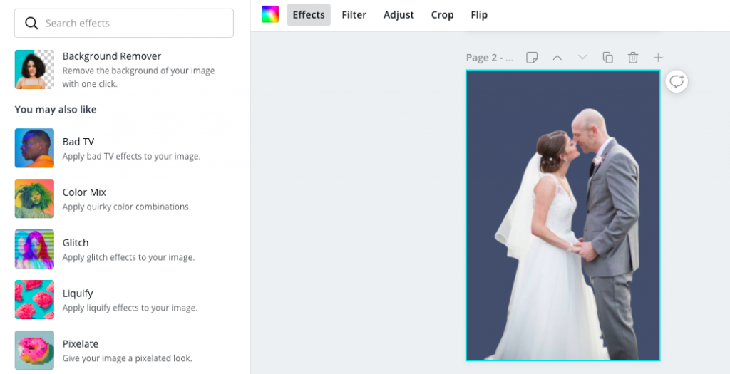 how to turn a photo into a silhouette in canva
