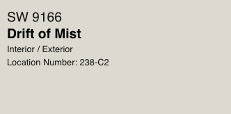 Drift of Mist by Sherwin Williams