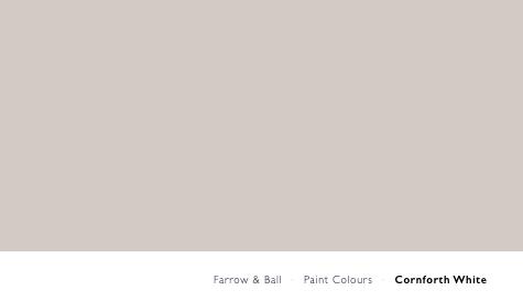 Cornforth White by Farrow and Ball (N. 228)
