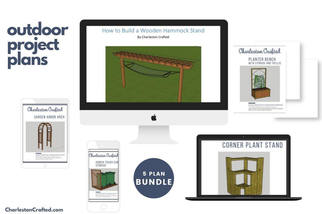 5 plan bundle mock up - outdoor furniture