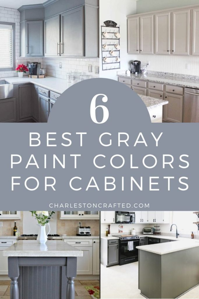 6 best gray paint colors for cabinets