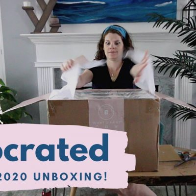 Decocrated Summer 2020 – Home Decor Subscription Box Unboxing
