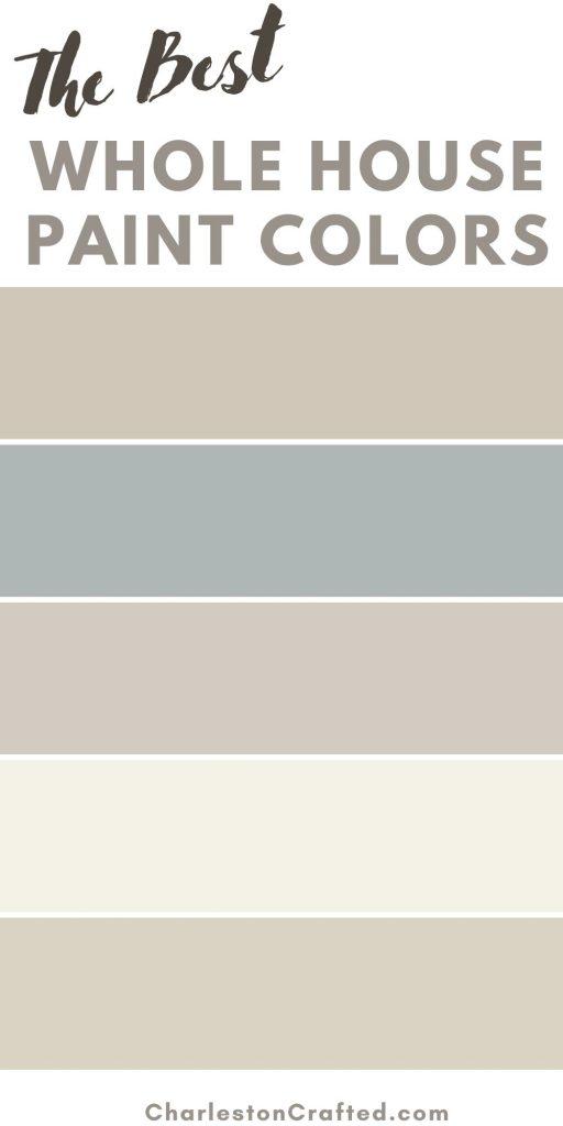 The best whole house paint colors