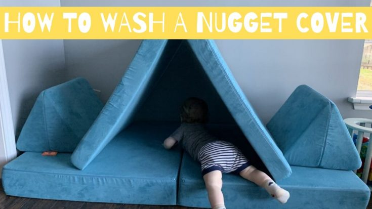 how to wash a nugget cover