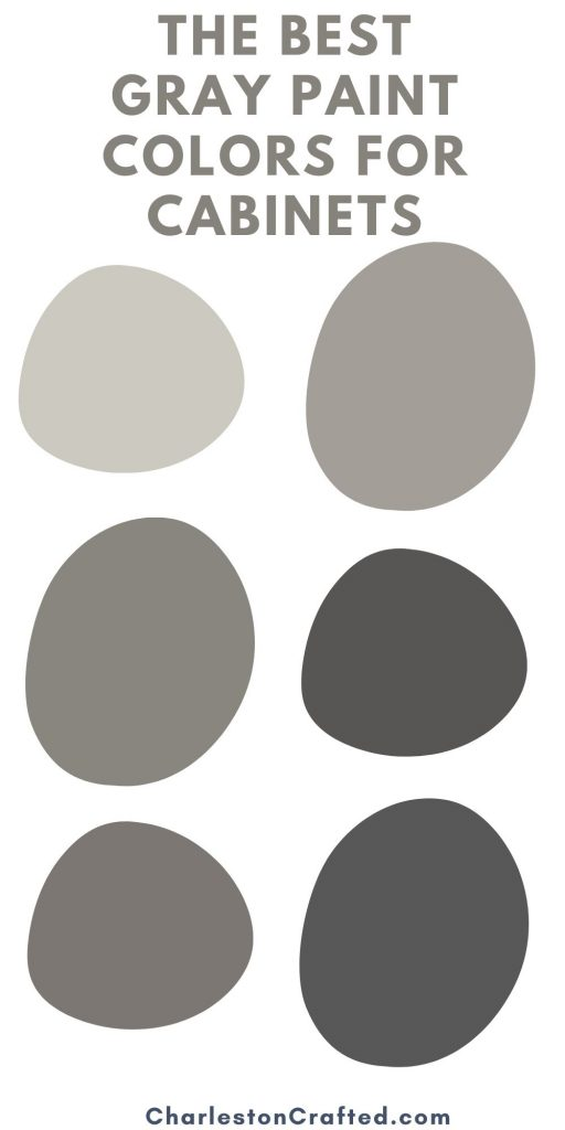 the best gray paint colors for cabinets