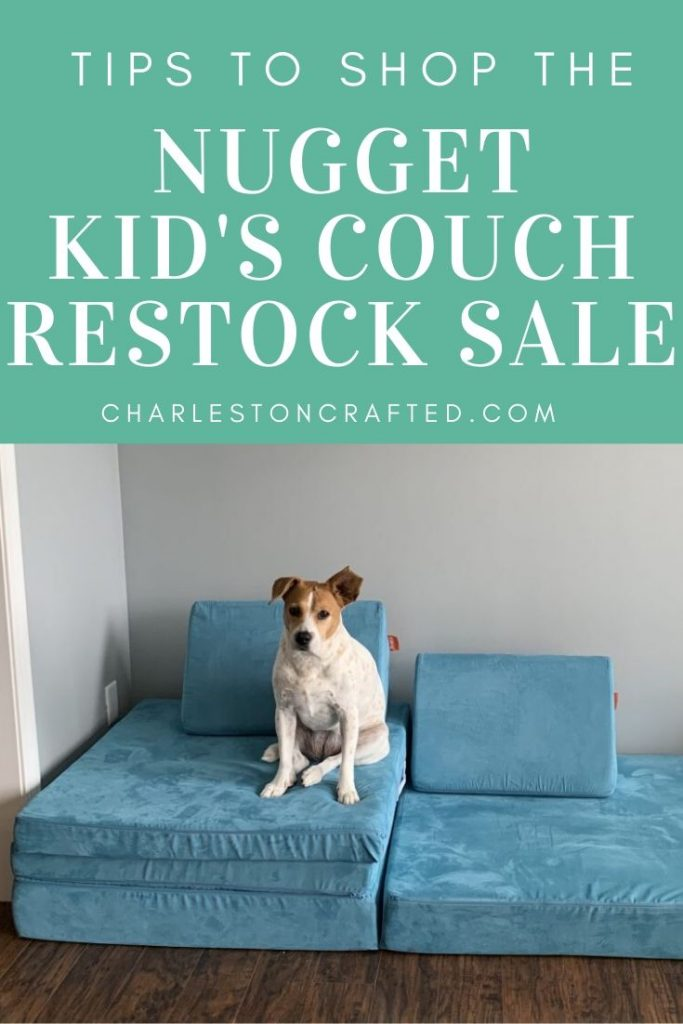 tips to shop the nugget kids couch restock sale