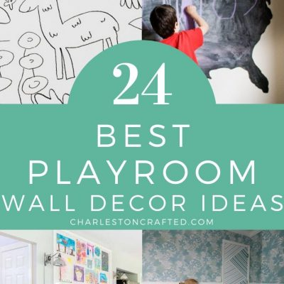 27 DIY Playroom Wall Decor Ideas