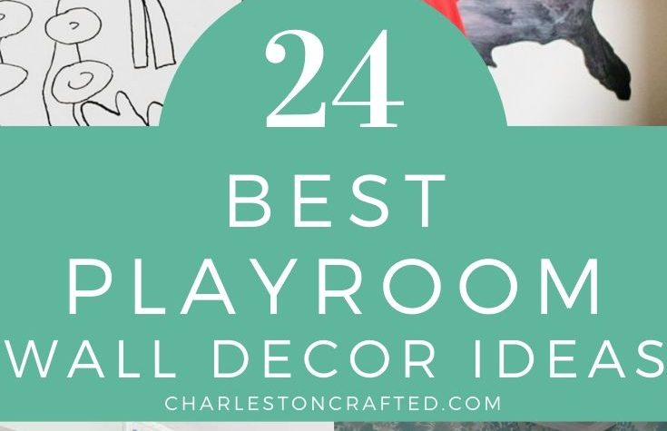 24 Playroom Wall Decor Ideas
