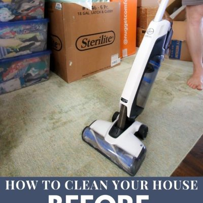 Cleaning your home before you move - Charleston Crafted