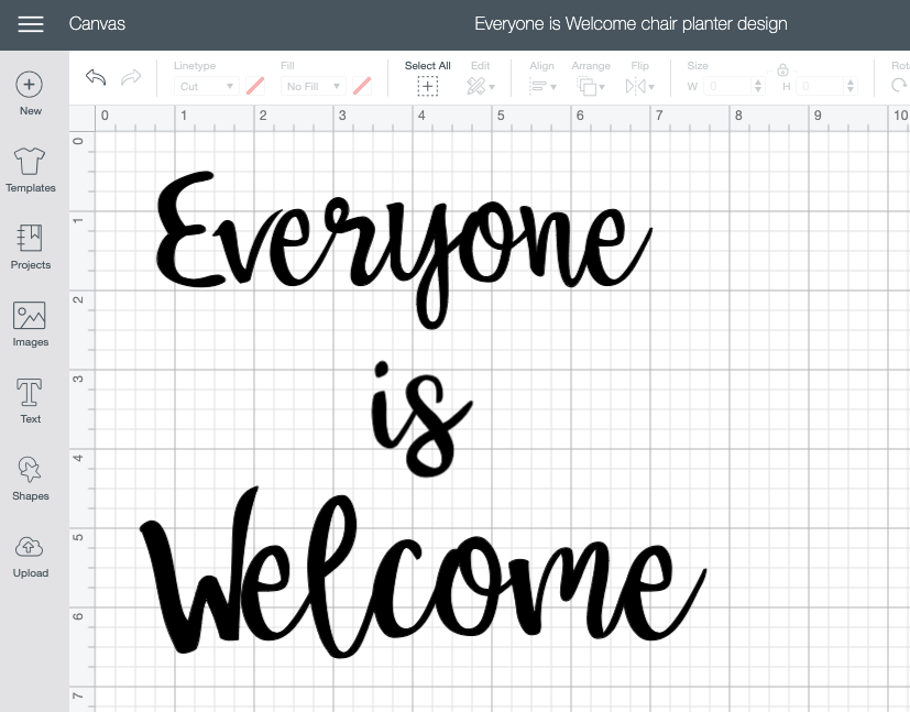 how to design a stencil in cricut design space