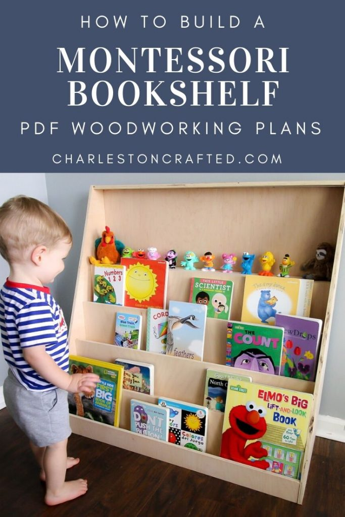 how to build a montessori bookshelf with pdf woodworking plans