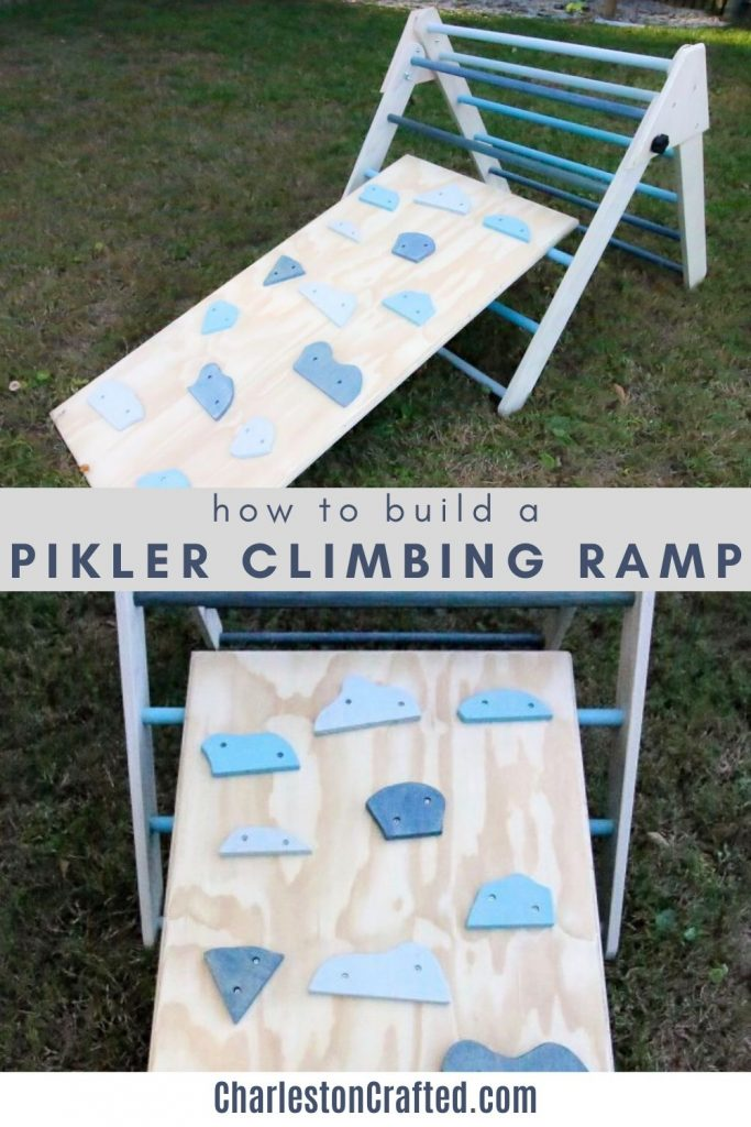 how to build a pikler climbing ramp