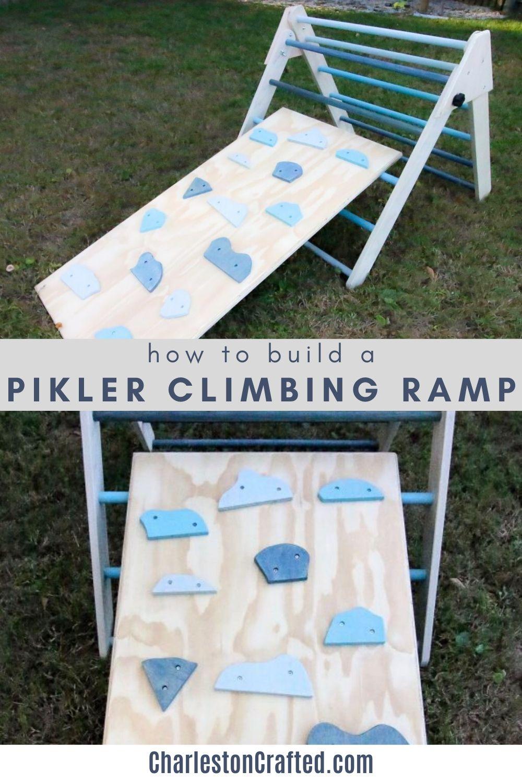 how to build a pikler climbing ramp