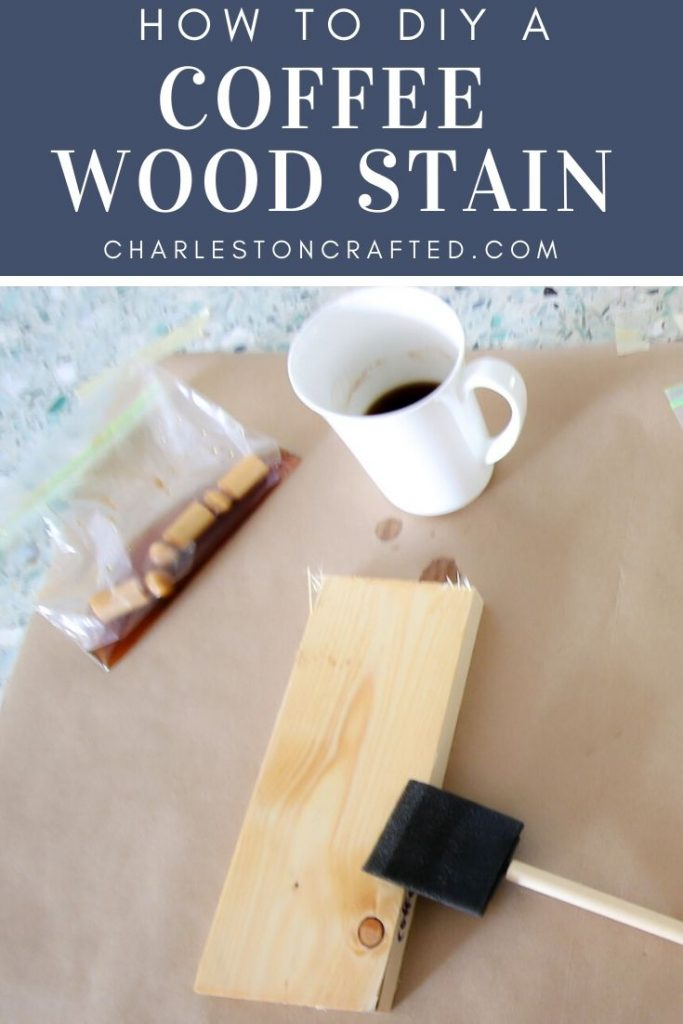 how to diy a coffee wood stain for wood