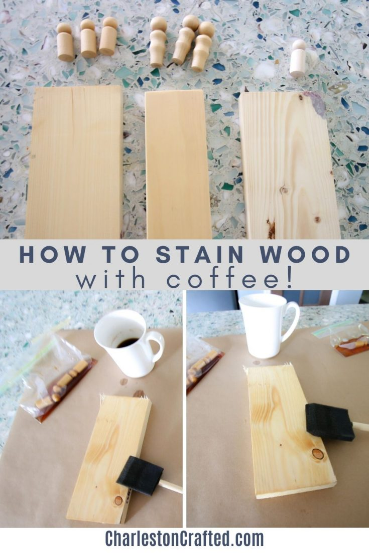 how to stain wood with coffee (1)
