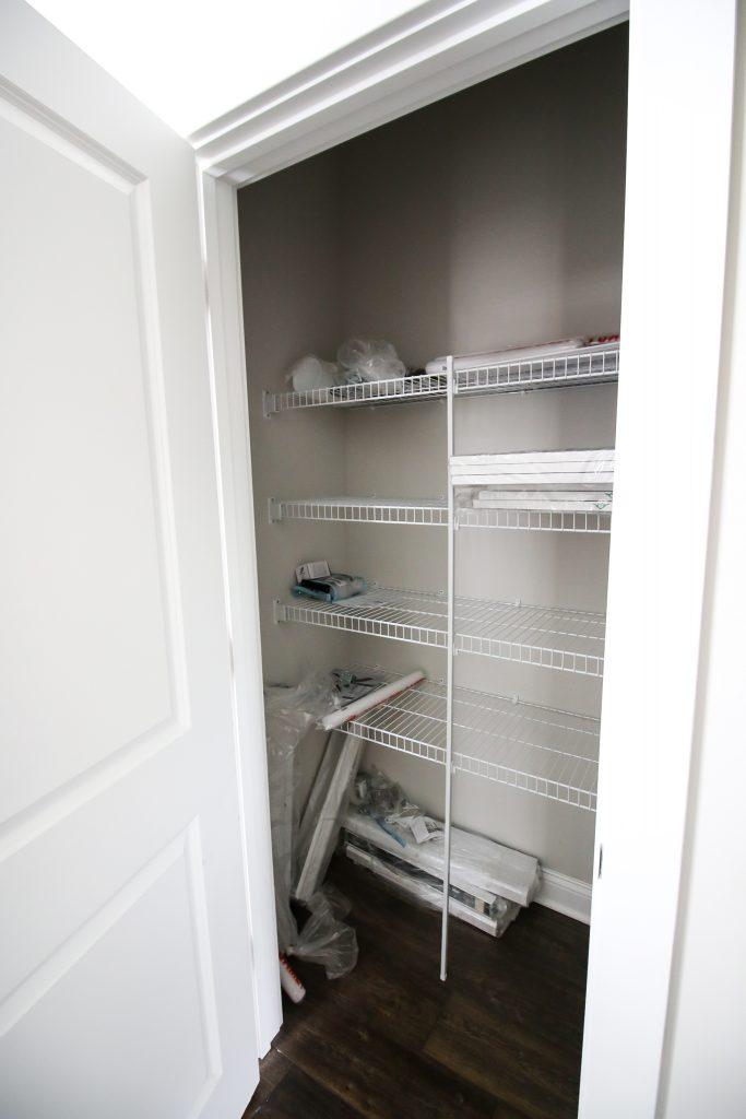 linen closet before