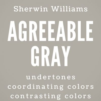 Sherwin Williams Agreeable Gray: The Ultimate Greige