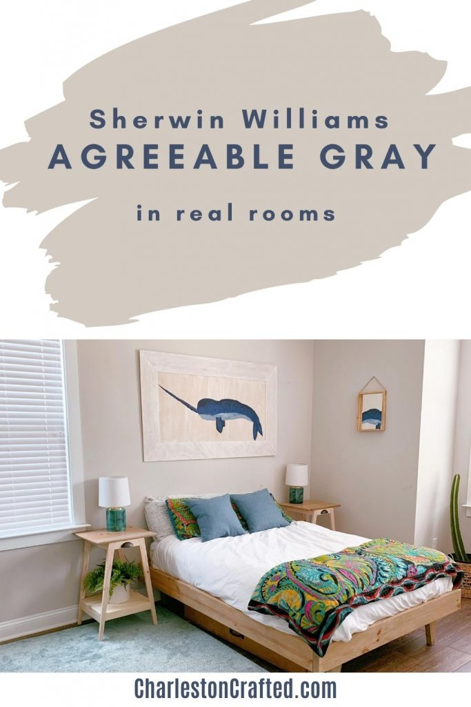 sherwin williams agreeable gray in real rooms