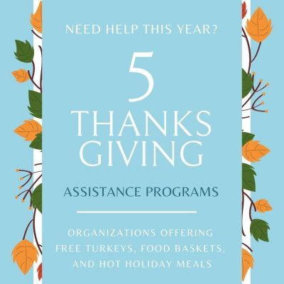 5 Thanksgiving Assistance Programs for 2020