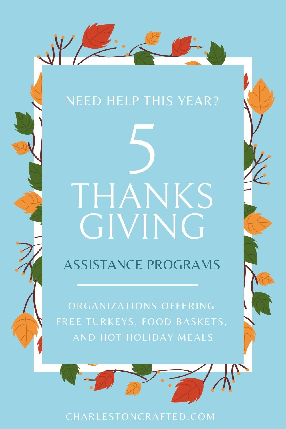 Free Christmas Turkeys For Low Income Families 2020 5 Thanksgiving Assistance Programs for 2020