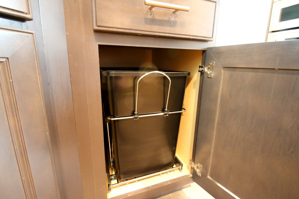 How to install a pull out trash can - Charleston Crafted
