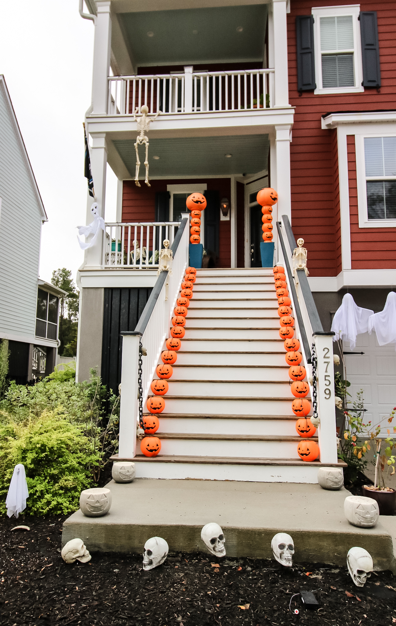 Our DIY Halloween Porch Decor