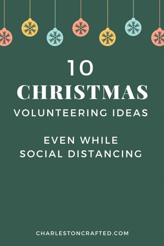 10 Christmas volunteering ideas