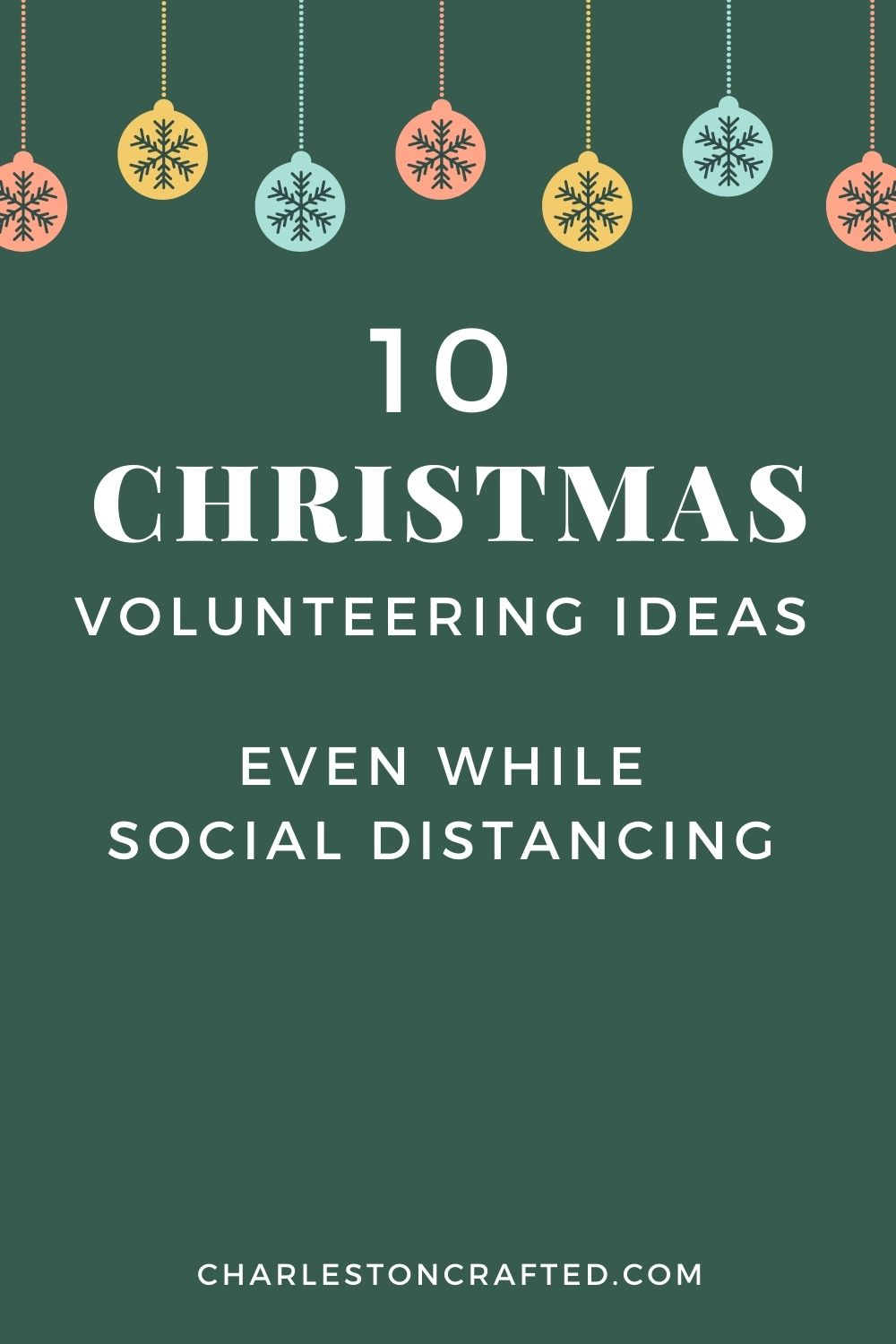 10 Christmas volunteering ideas
