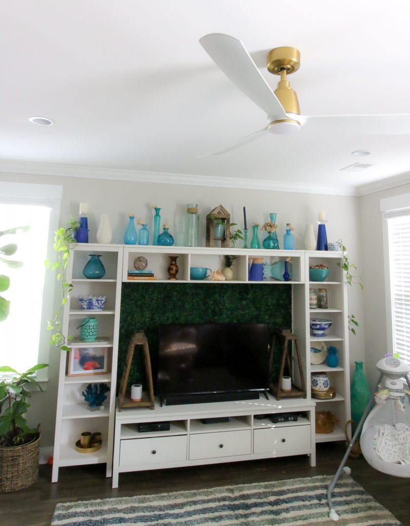Kute brass ceiling fan by fanimation