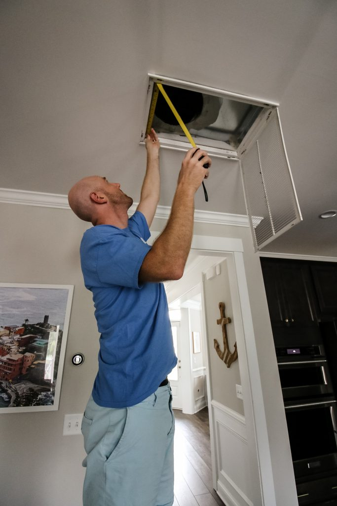 Installing new air filters when you move - Charleston Crafted