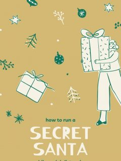 how to run a secret santa gift exchange while social distancing