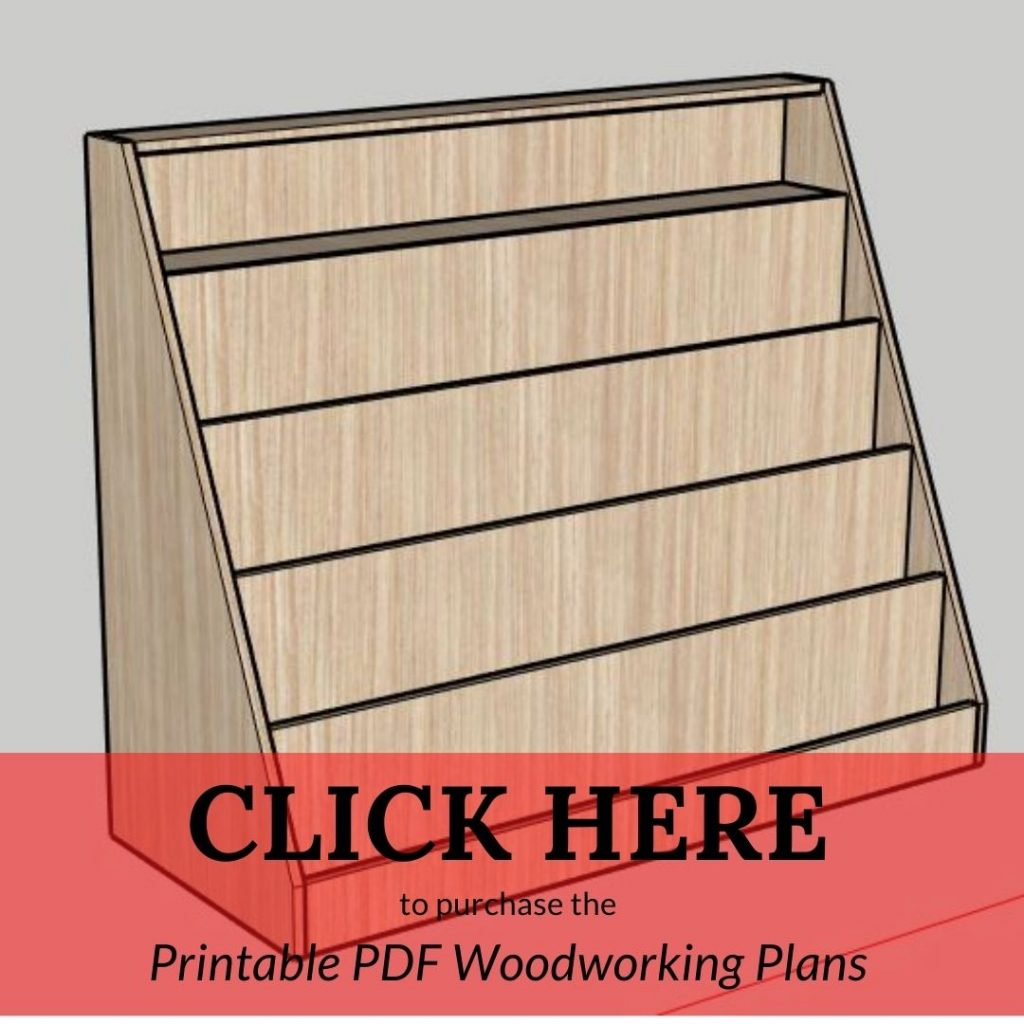 CLICK HERE to purchase the Printable PDF Woodworking Plans Bookshelf