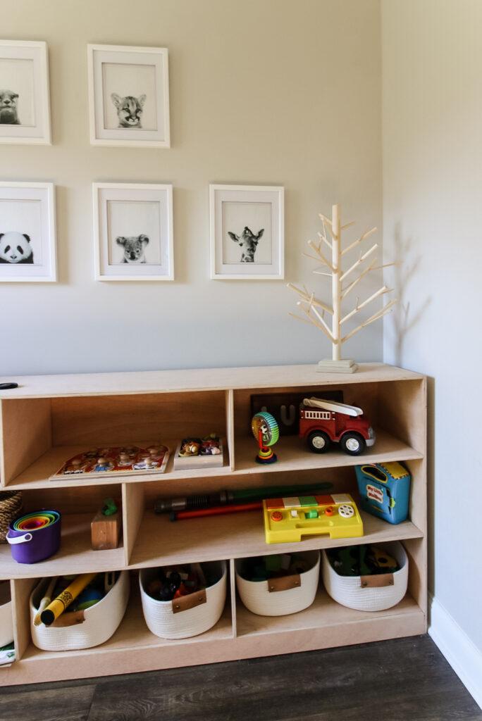 Dowel tabletop christmas tree