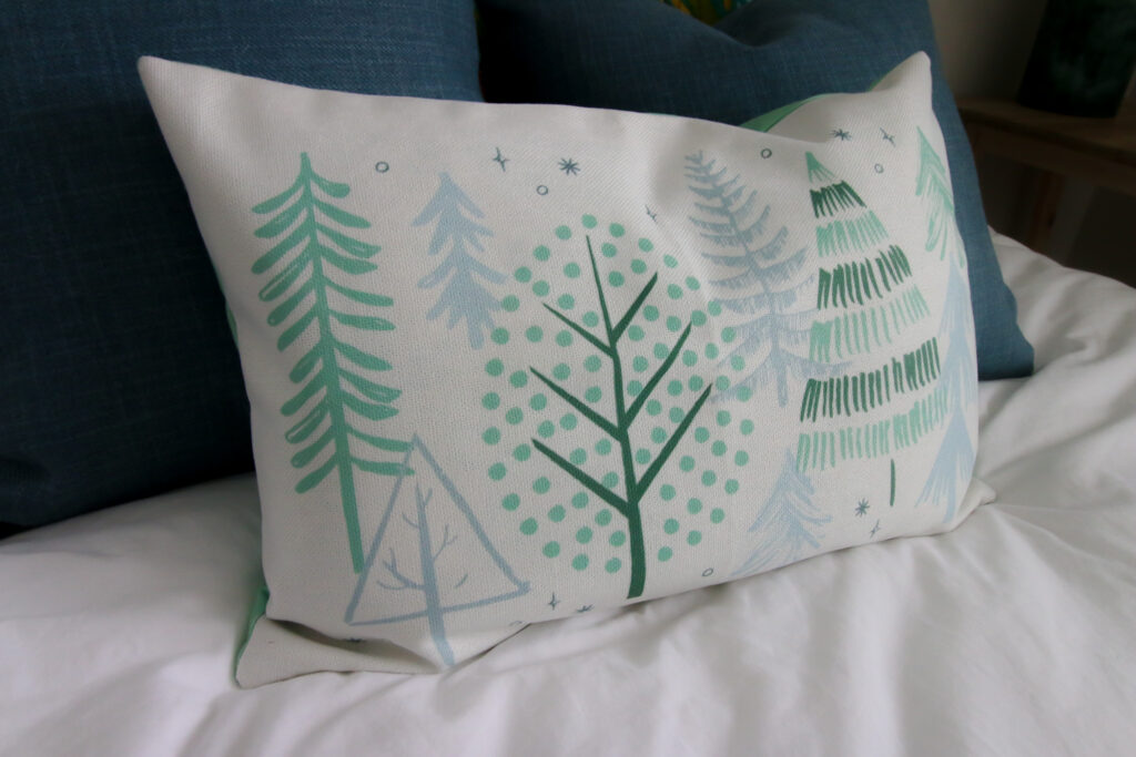 Decocrated winter pillow cover