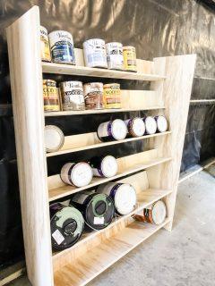 Final shot of storage shelf