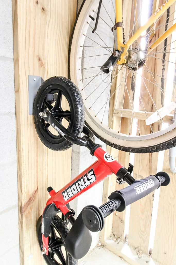 bike hook on wall