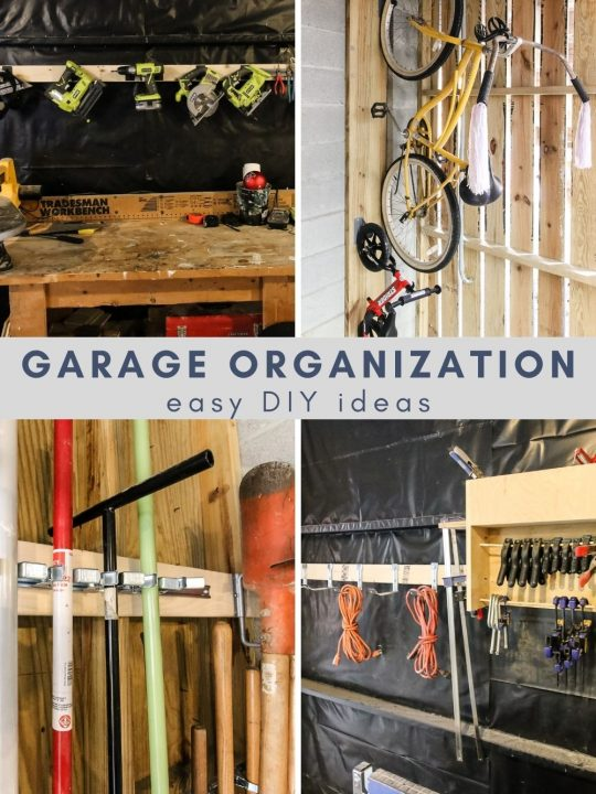 Easy DIY garage organization ideas