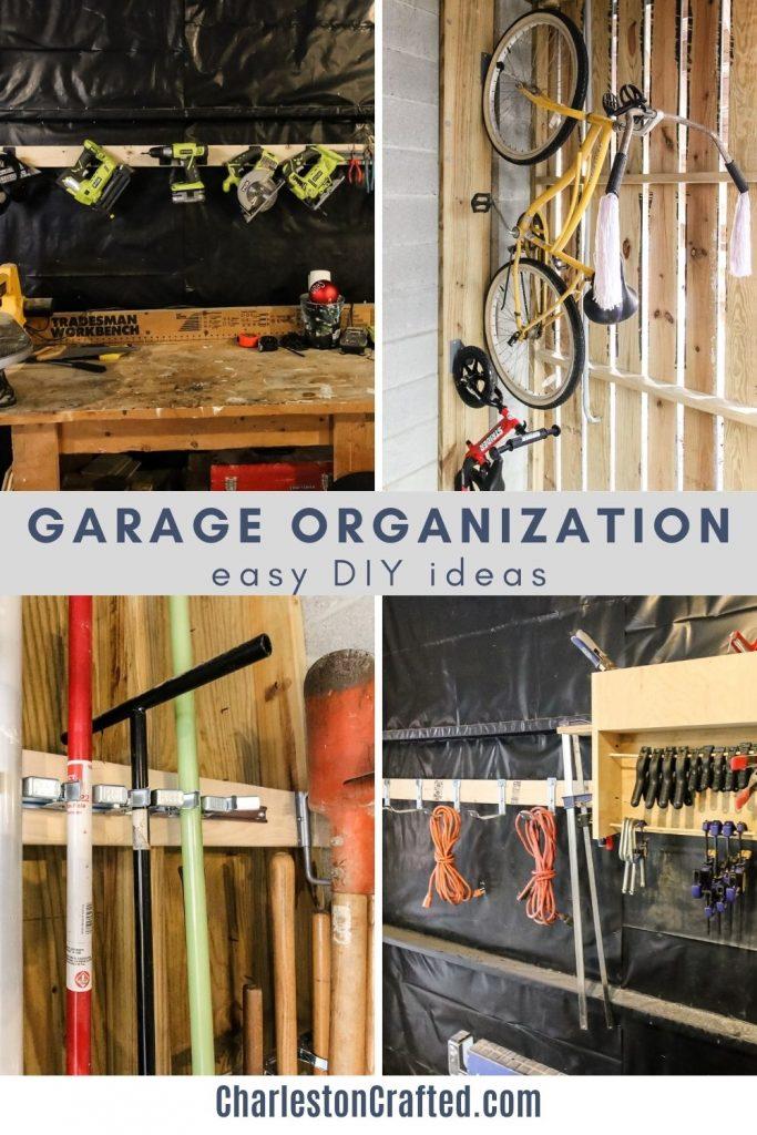 Easy DIY garage organization ideas
