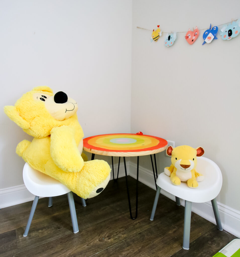 how to make a wood and metal kid's table the easy way