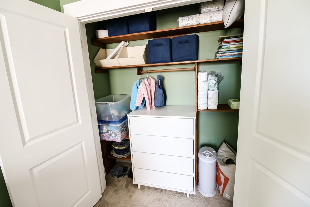 How to make a DIY custom toddler closet - Charleston Crafted