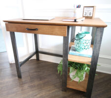 How to build a simple DIY writing desk – woodworking plans!