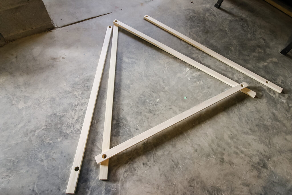 play tent frame construction