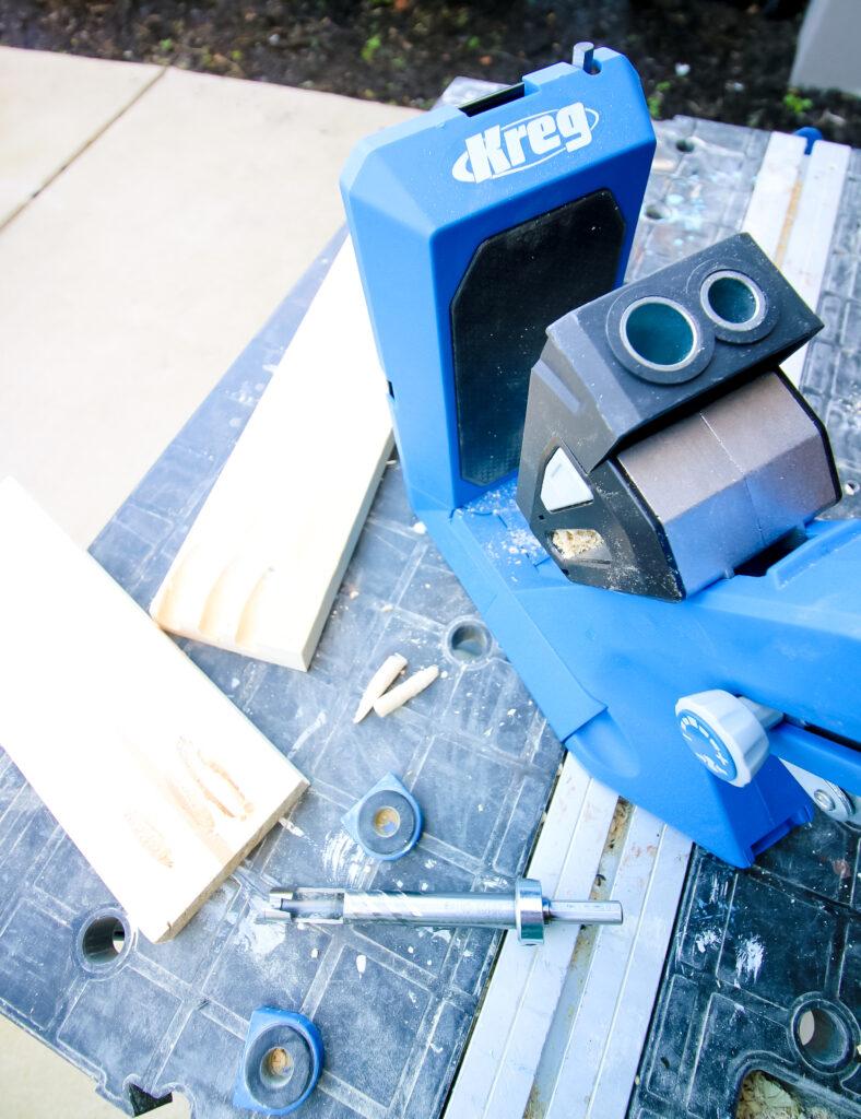 Kreg 720 with Plug Cutter