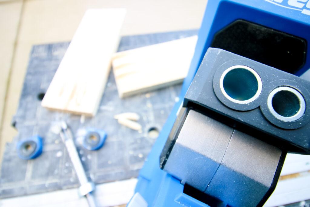 Kreg Plug Cutter Drill Guide in Kreg 720