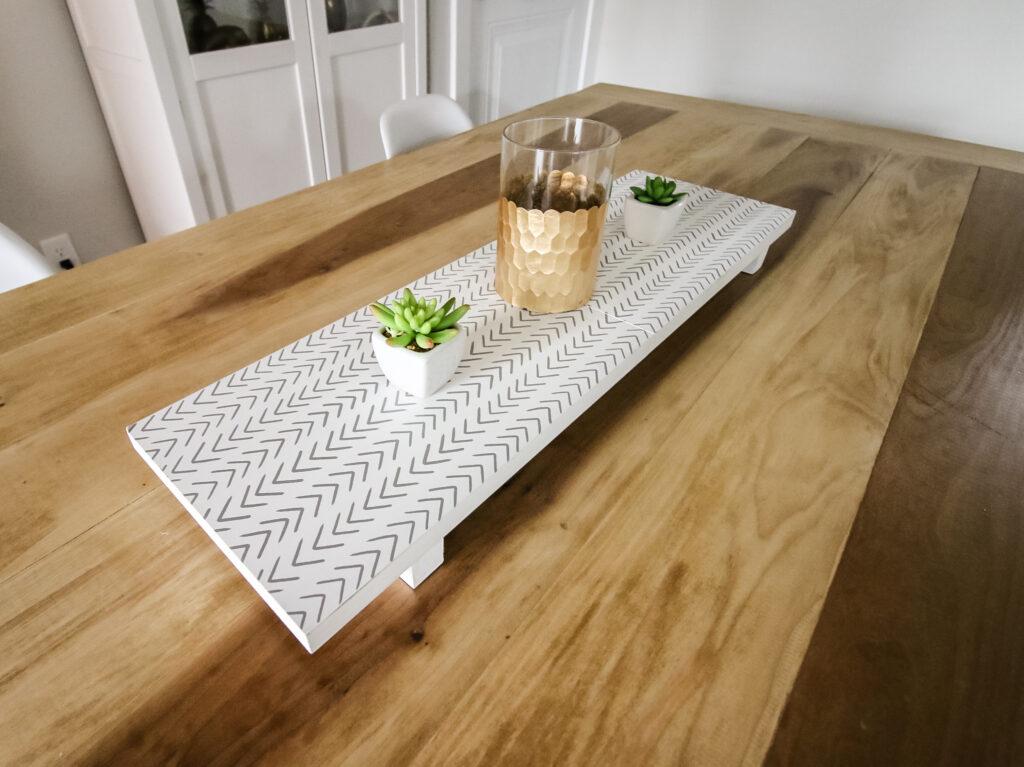 folding wooden trivet