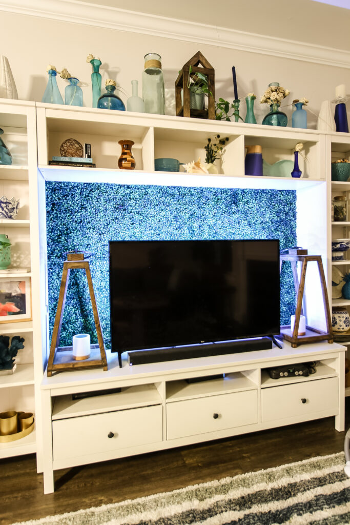 how to add LED lights behind your flatscreen TV