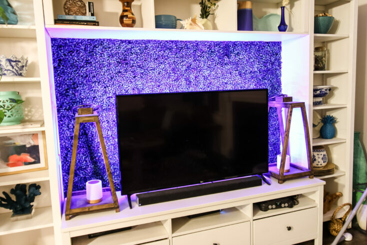 How to add LED lights behind your flat screen TV