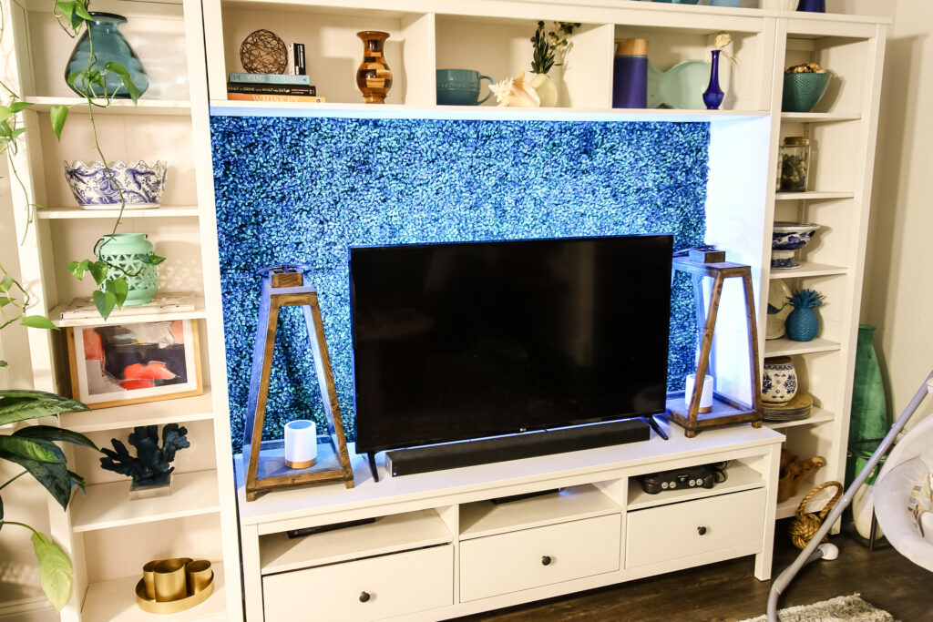LED Lighting behind a TV